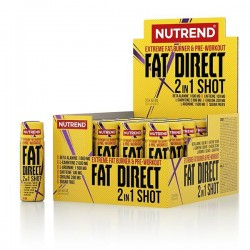 Nutrend Extrem Fat Direct 2 in 1 shot 20 x 60 ml