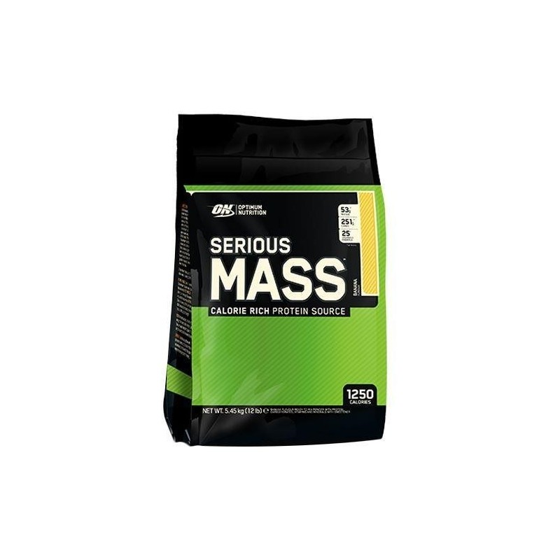 Optimum Nutrition Serious Mass 5.4 kg 12 Lbs
