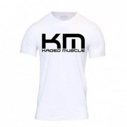 T Shirt Kaged Muscle white