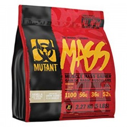 Mutant Mass 5Lbs 2.27 Kg  New Formula